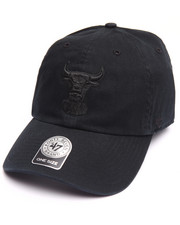 Hats - Chicago Bulls Black on Black Clean Up 47 Strapback Cap