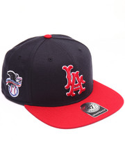 Men - Los Angeles Angels Sure Shot Two Tone 47 Captain Snapback Cap