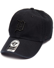 Women - Detroit Tigers Black on Black Clean Up 47 Strapback Cap