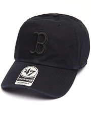 Hats - Boston Red Sox Black on Black Clean Up 47 Strapback Cap