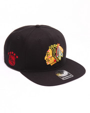 Hats - Chicago Blackhawks Sure Shot 47 Captain Snapback Cap