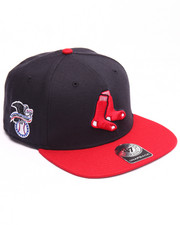 Hats - Boston Red Sox Sure Shot Two Tone 47 Captain Snapback Cap