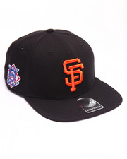 Hats - San Francisco Giants Sure Shot 47 Captain Snapback Cap