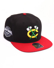 Hats - Chicago Blackhawks Sure Shot Two Tone 47 Captain Snapback Cap