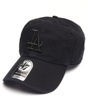 Women - Los Angeles Dodgers Black on Black Clean Up 47 Strapback Cap