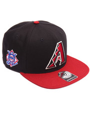 Hats - Arizona Diamondbacks Sure Shot Two Tone '47 Captain Snapback Cap