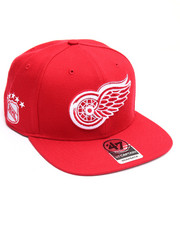 Men - Detroit Red Wings Sure Shot 47 Captain Snapback Cap