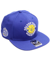 Hats - Golden State Warriors Sure Shot 47 Captain Snapback Cap