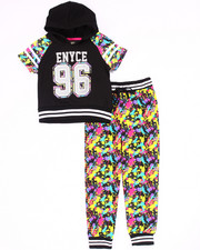 Sizes 4-6x - Kids - 2 PC SET - HOODED TEE & SPLATTER JOGGERS (4-6X)