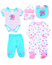 Infant & Newborn - 7 PC SWEET PRINCESS GIFT SET (NEWBORN)