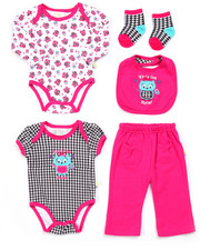 Infant & Newborn - 5 PC LIL' MISS WHO SET (NEWBORN)