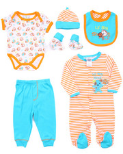 Infant & Newborn - 7 PC LIL' BIG SHOT GIFT SET (NEWBORN)