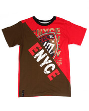 Enyce - ELONGATED LOGO TEE (8-20)