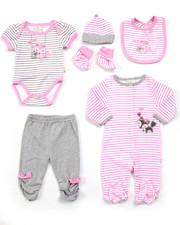 Infant & Newborn - 7 PC FOXY GIFT SET (NEWBORN)