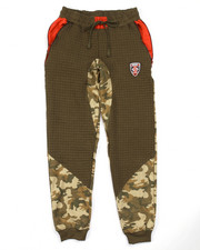 Bottoms - CUT & SEW CAMO JOGGERS (8-20)