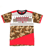 Enyce - ELONGATED CAMO LOGO TEE (8-20)
