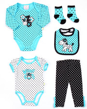 Infant & Newborn - 5 PC ZEBRA SET (NEWBORN)
