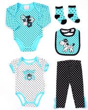 Infant & Newborn - 5 PC ZEBRA SET (NEWBORN)