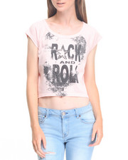 Tees - Rock & Roll Boat Neck Tee