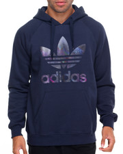 Adidas - City Lights Trefoil Pullover Hoodie