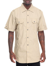 Men - Short Sleeve Woven Shirt
