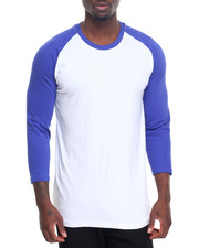 Shirts - 3/4 Sleeve Shirts 100% Cotton Crew Neck