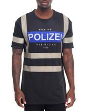 Men - Polizei Cuff S/S Tee