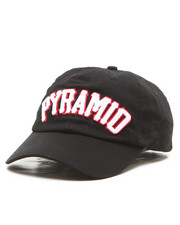 Hats - Pyramid Text Strapback Hat