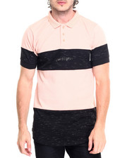 Shirts - DOLPHIN CLASSIC ELONGATED S/S POLO