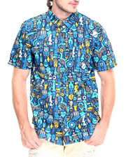 LRG - Tribal Vibe S/S Button-Down