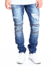 Men - DRIP RIP SKINNY DENIM JEANS