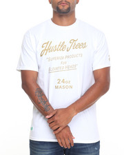 T-Shirts - Hustle Trees by LRG - Anthony Mason T-Shirt