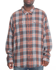 LRG - Two Face L/S Button-Down (B&T)