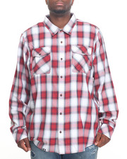 LRG - Syndicate L/S Poplin Button-Down (B&T)