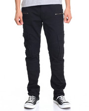 Men - Utility Fashion Cargo Denim W/Zip Pockets