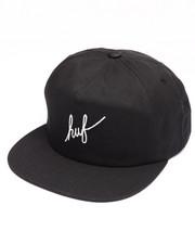 Hats - Script Snapback Cap