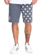 Men - Waves Of Grain Fleece Shorts