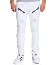 Men - Modified Moto Panel Jean