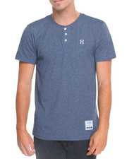 HUF - Premium Heather Henley Tee