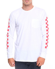 HUF - HUF x Chocolate Checkered L/S Pocket Tee