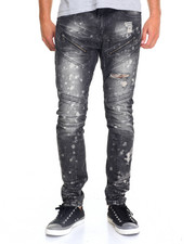Men - Acid Panel Moto Jean