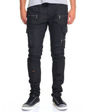 Jeans - Wax Coated Cargo Jean