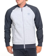 Men - SPORT LUXE KNIT TRACK JACKET