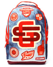 Sprayground - Acid Denim Varsity Backpack