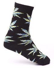 Men - Melange Plantlife Crew Socks