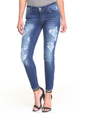 Bottoms - Kenny Heavy Destruction Skinny Jean