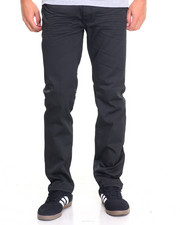 Basic Essentials - Viscose Coated Stretch Denim Jeans