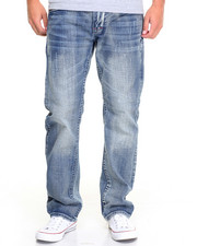 Jeans - Thick - Stitch Back - Pocket Denim Jeans
