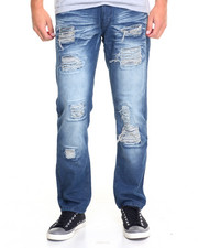 Jeans - Rock Out Rip - And - Repair Denim Jeans