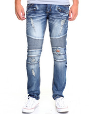 Men - K G Biker Denim Jeans
